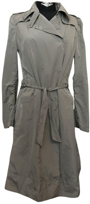 CNC Costume National Grey Trench Coat for Women
