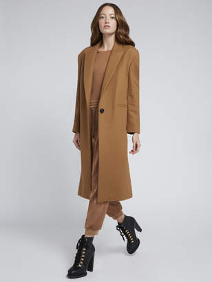 Alice + Olivia NICOLA OVERSIZED LONG COAT