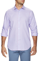 James Tattersall Checkered Dress Shirt