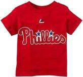 Majestic Toddler Brown Player N&N Tee S/S - Philadelphia Phillies - 4T