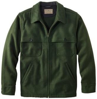 L.L. Bean Men's Maine Guide Zip-Front Jac-Shirt