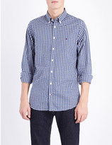 Tommy Hilfiger Slim-fit gingham-print cotton shirt