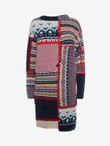 Alexander McQueen Patchwork Knit Dress