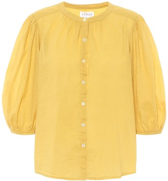 Velvet Emberly cotton-voile shirt