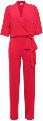 By Malene Birger Zhou Tie-front Wrap-effect Stretch-jersey Jumpsuit