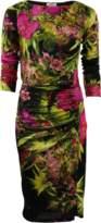 Fuzzi Ruched Dress
