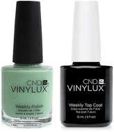 CND Creative Nail Design Vinylux Mint Convertible Nail Polish & Top Coat (Two Items), 0.5-oz, from Purebeauty Salon & Spa