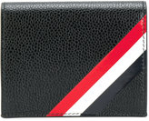 Thom Browne contrast stripes wallet