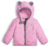 The North Face Plushee Fleece Bear Zip Hoodie, Pink, Size 3-24 Months