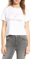 Mother Women's T-Time Crop Graphic Tee