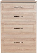 Swift Winchester Ready Assembled Graduated 4 Drawer Chest