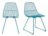 Bend Goods Ethel Side Chair Color: Peacock Blue