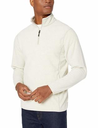 Amazon Essentials Men's Quarter-Zip Polar Fleece Jacket