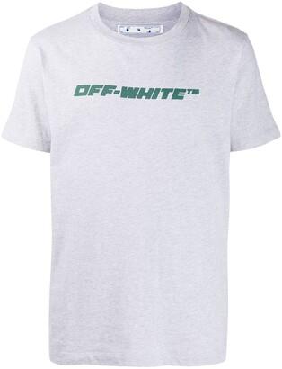 Off-White Trellis Worker logo-print T-shirt