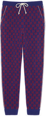 Gucci GG wool trousers
