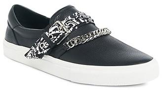 Amiri Bandana Chain Slip-On Sneakers