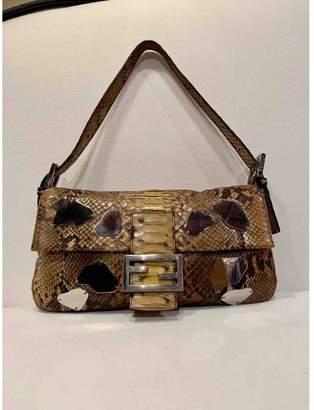 Fendi Baguette Other Python Handbags