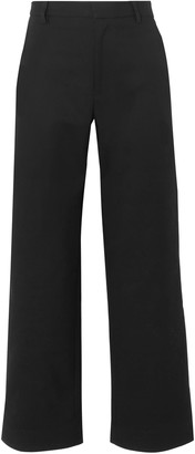 Tome Cotton-blend Faille Wide-leg Pants