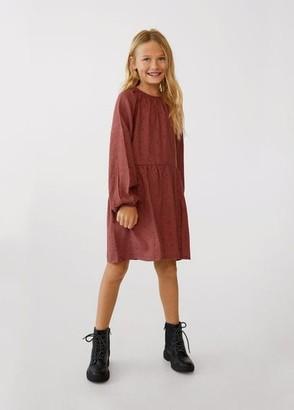 MANGO Flowy printed dress