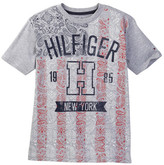 Tommy Hilfiger Paisley Flag Tee (Big Boys)