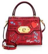 Dolce & Gabbana Graffiti Top Handle Bag