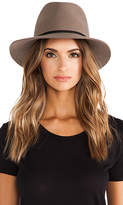 Janessa Leone Lola Hat in Brown. - size S (also in )