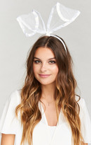 MUMU Bridal Bunny Ear Headband
