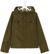 Burberry hooded windbreaker jacket - kids - Cotton/Polyester/polyester - 14 yrs