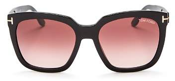Tom Ford Women's Oversized Square Sunglasses, 55mm