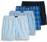 Jockey Four-Pack Tailored Woven Boxers