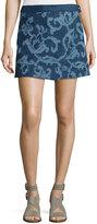 Rag & Bone Marina Jean Mini Skirt, Indigo