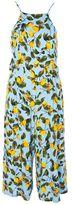 Glamorous **Lemon Print Culottes Jumpsuit
