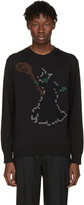 Undercover Black Pixel Witch Sweater