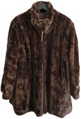 Burberry Brown Faux fur Coat for Women