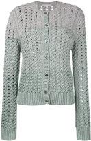 Marco De Vincenzo knit cardigan - women - Polyester/Viscose/Cashmere/Virgin Wool - 42