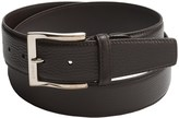 a. testoni Karibu Calf Leather Belt (For Men)