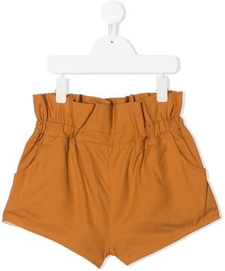 Wolf & Rita Ruffled Cotton Shorts