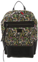 Christian Louboutin Aliosha Leather-Trimmed Backpack w/ Tags
