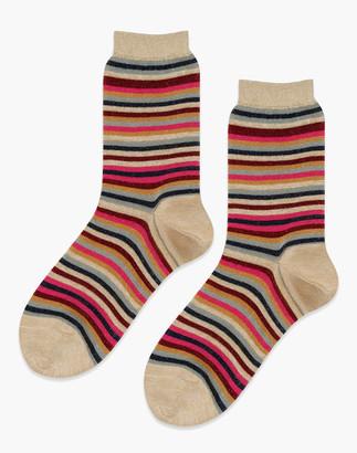 Madewell Hansel from Basel Two-Pack Geo Shimmer Socks