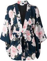 Fleur Du Mal floral Haori kimono