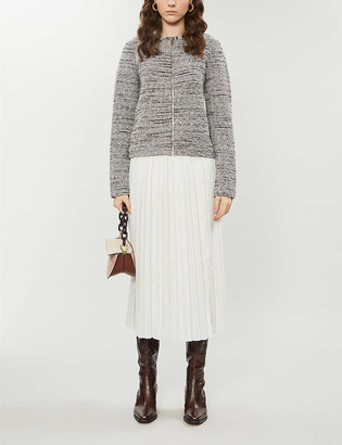 Ted Baker Helyinn wool-blend boucle jacket