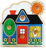 "Melissa & Doug First Shapes"" Jumbo Knob Puzzle"