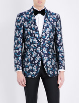 Gieves & Hawkes Tailored-fit silk jacket