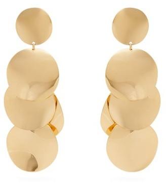 Isabel Marant Disc Drop Earrings - Womens - Gold