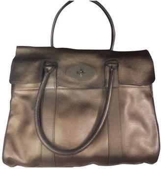 Mulberry Bayswater Metallic Leather Handbags