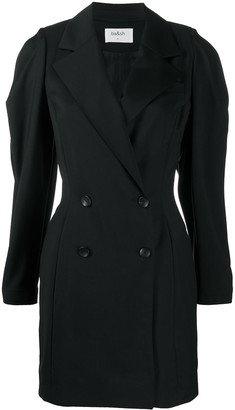 BA&SH Karly double-breasted blazer dress