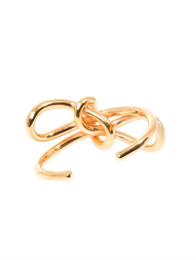 Balenciaga Single bow cuff