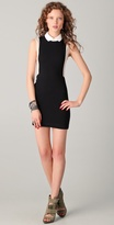 Collared Body Con Dress