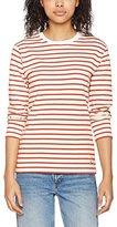 Armor Lux 73998, Women's T-Shirt, Beige (Nature / Marte), FR: 40 (Size Manufacturer: 2)