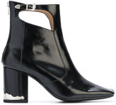 Toga Pulla cut-out detail boots